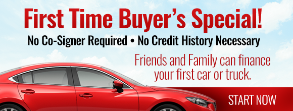 First Time Buyer Auto Loan Special