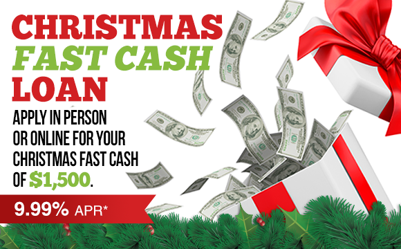 Holiday Fast Cash Loan
